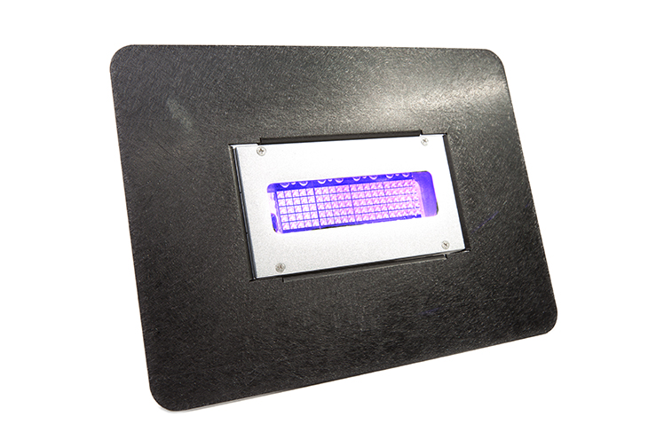 The Squid Ink UV LED Ink Curing System illumination module offers instant on and off curing