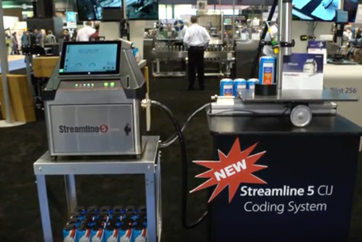 Squid Ink launches new Streamline 5 CIJ coder