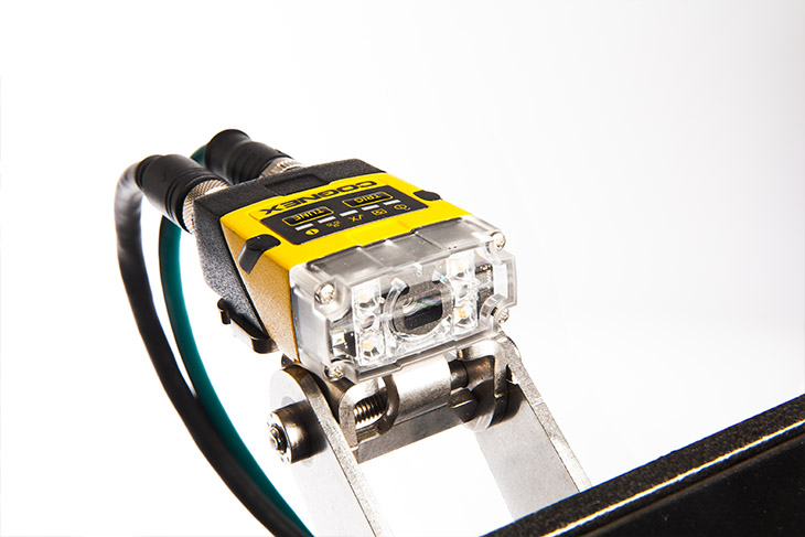 Squid Ink SquidCheck Print Verification System Cognex readers offer straight or right-angled configurations to fit into the tightest spaces