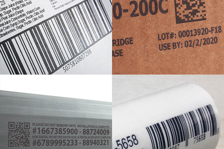 Squid Ink SquidCheck offers print and verification of 1D or 2D bar codes printed on all of your products
