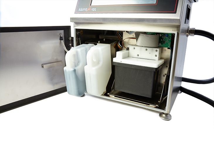 JetStream's entire ink system can slide out for routine maintenance or it can be completely replaced in minutes for annual PMs.