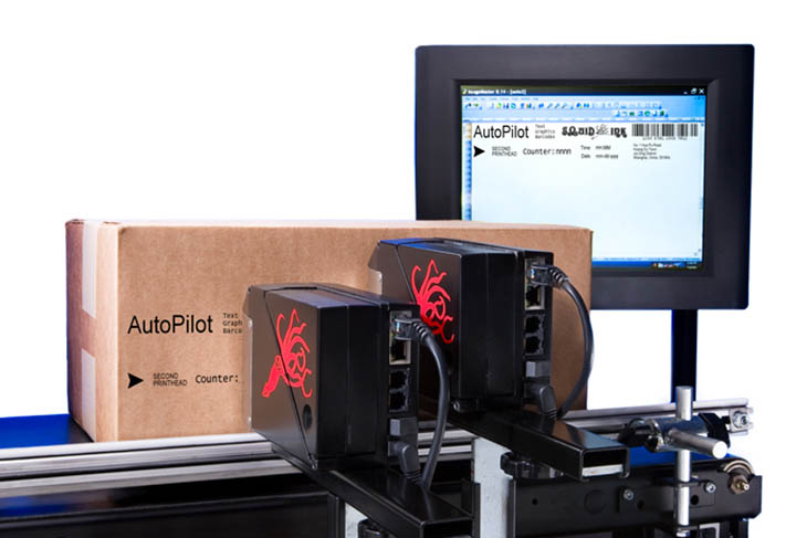 Squid Ink hi-resolution industrial inkjet printers for coding and marking applications