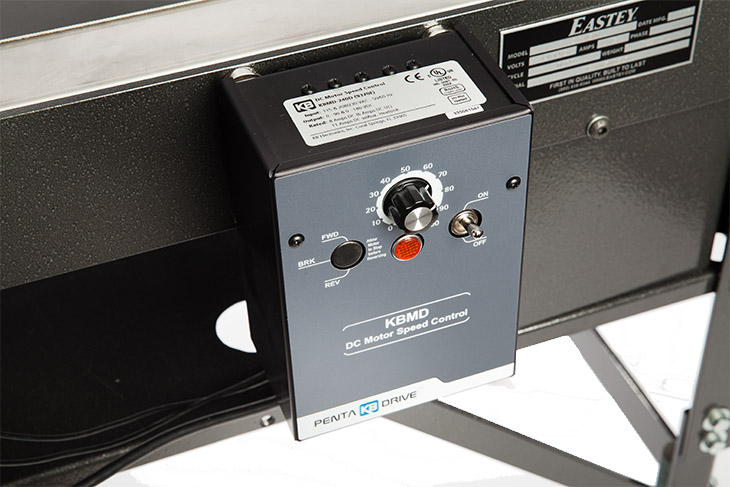 Eastey Conveyor magnetic mounted control box