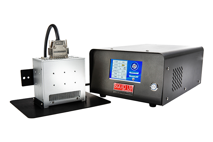 Squid Ink UV LED ink curing system for coding and marking applications