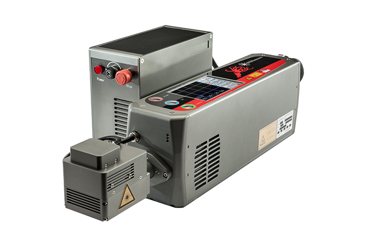 The Squid Ink SQ-Laser SQ-30 laser coding system and power supply