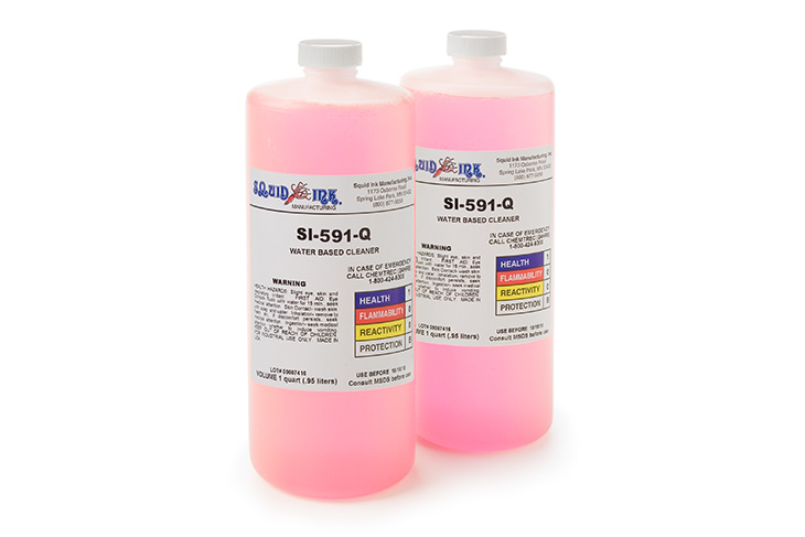 Squid Ink CIJ / Make-Up Replacement Fluids 1-quart bottle for Imaje