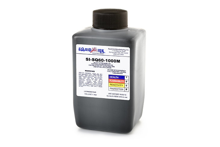 Squid Ink DOD Large Character Replacement Ink Jet Fluids 1-liter bottle for Matthews Jet-A-Mark