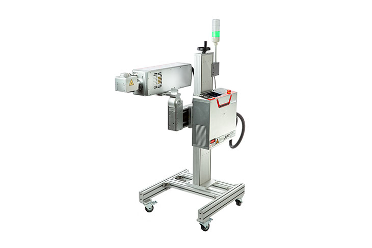 The Squid Ink SQ-Laser SQ-300 laser coding system heavy duty stand for multiple configurations