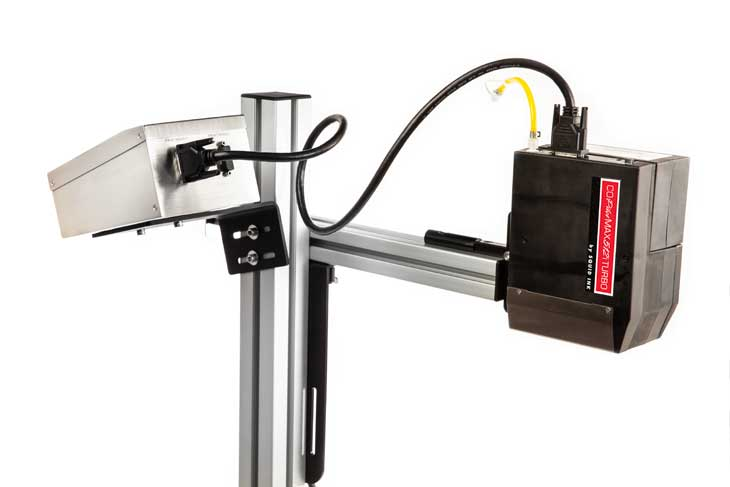 Max 512i Turbo revolutionary active ink system allows conversion to downshooter mode in seconds.